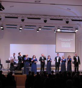 Održan humanitarni koncert Gospel ansambla Agape za Antoniju Kraljić