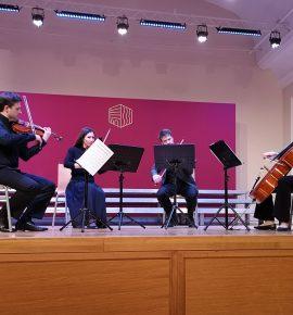 Održan koncert Hrvatskog gudačkog kvarteta