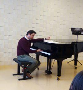 Filip Fak održao seminar i predavanje za učenike i profesore klavirskog odjela