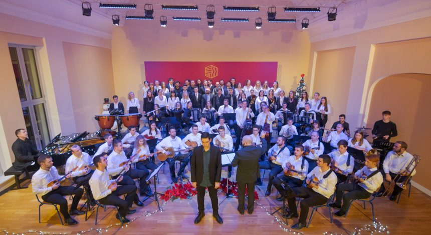 Božićna čestitka učenika i djelatnika Glazbene škole Požega