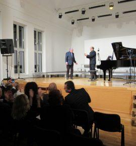 Održan koncert K. Krasnitskog s djelima D. Bobića