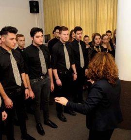 Mješoviti zbor Glazbene škole Požega nastupio povodom 26. promocije diplomanata na Veleučilištu u Požegi