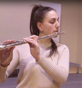 Učenica Maja Mustapić snimila audicijski video za RYLA – European Youth Orchestra Academy u Mannheimu