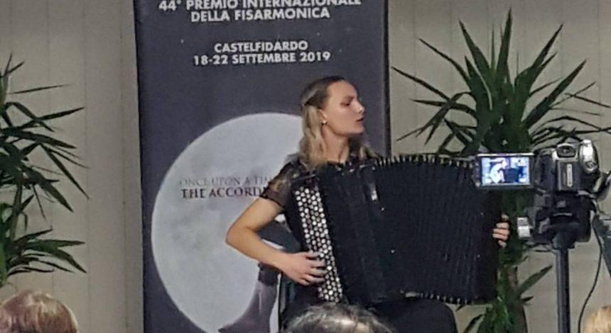 Naša učenica sudjelovala na međunarodnom natjecanju u Castelfidardu