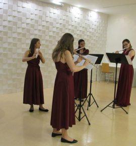"Održan koncert Kvarteta flauta ""MONOCHROMIA"""