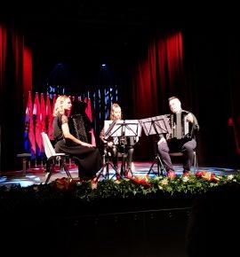 Nastup učenika na svečanom otvorenju multimedijalne dvorane u Pleternici