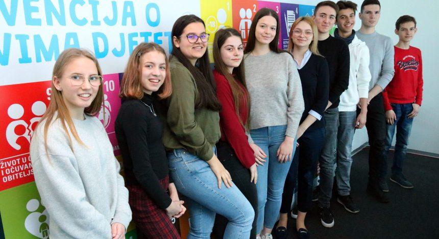 Učenik Glazbene škole Požega odabran za mladog ambasadora za prava djece i mladih EU