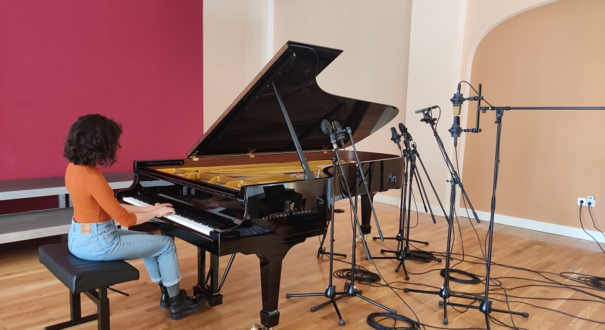 Probno snimanje koncertnog klavira Steinway D