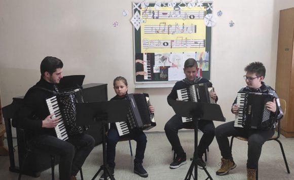 Održan Božićni koncert u Područnom odjeljenju Kutjevo