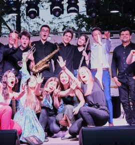 Školski bend gostovao na koncertu u Našicama